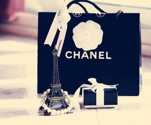 chanel, paris, and black image
