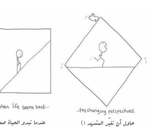 life, drawing, and perspective image