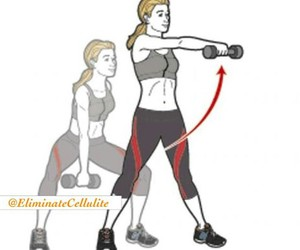 exercices, cellulite, and fitness image