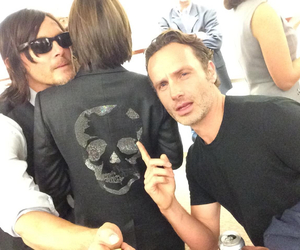 the walking dead, norman reedus, and rick grimes image