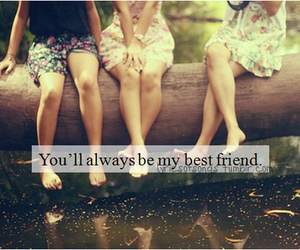 best friends, friends, and girl image