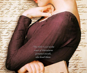 Anne Hathaway, jane austen, and writer image