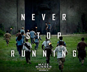 the maze runner, book, and newt image