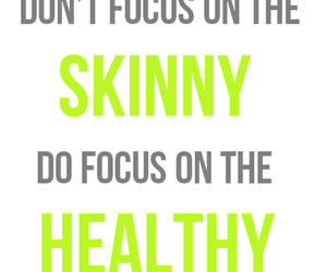 quote, healthy, and fit image