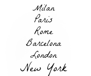 rome, Barcelona, and london image