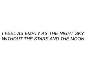empty, stars, and moon image