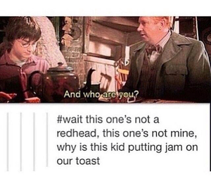 harry potter, weasley, and tumblr image