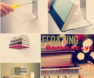 diy, book, and tutorial image