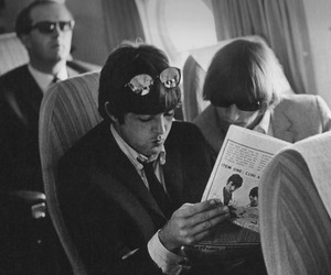 beatles, glasses, and Paul McCartney image