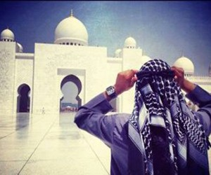 muslim, arab, and homme image