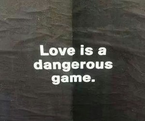 dangerous, game, and sad image