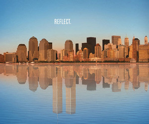 reflect, new york, and twin towers image