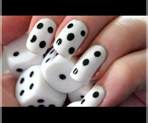 nails, dice, and style image