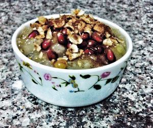 dessert, food, and nuts image