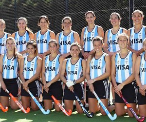 argentina, hockey, and equipo image
