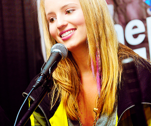 glee, dianna agron, and beautiful image