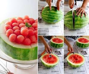 fruit, watermelon, and diy image