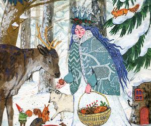 art, christmas, and snow image