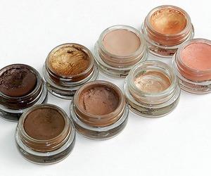 eye makeup, mac, and makeup image