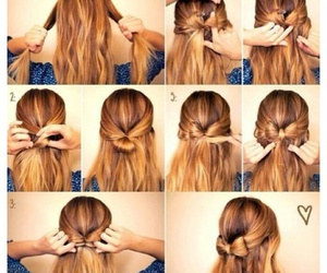 amazing, hairstyles, and bow image