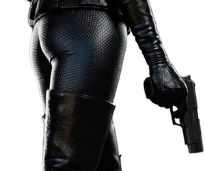 Anne Hathaway and catwoman image