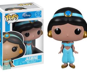 jasmine, aladdin, and funko pop image