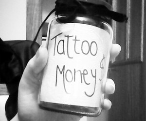 money and tattoo image