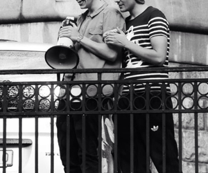 larry, louistomlinson, and love image