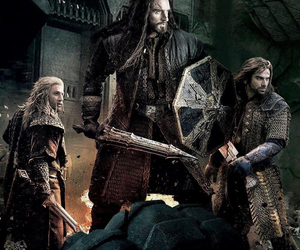 richard armitage, the hobbit, and aidan turner image