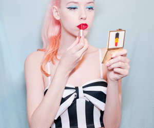 cute girl, fashion, and Pin Up image
