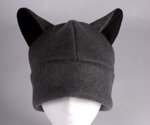 wolf, wolf hat, and wolf ears hat image
