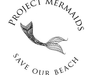 beach, mermaids, and save image