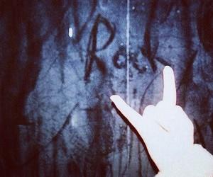 rock, black, and grunge image