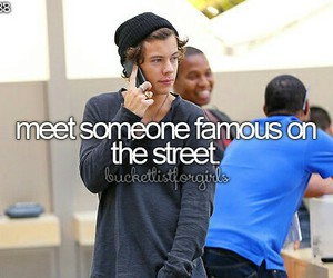 celebs, street, and famous image