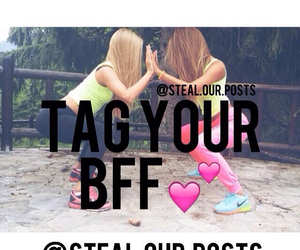 best friend, bff, and poses image