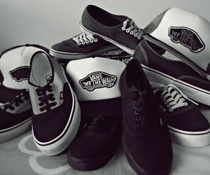 vans, shoes, and cap image