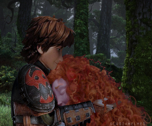 merida, sweet, and hiccup image