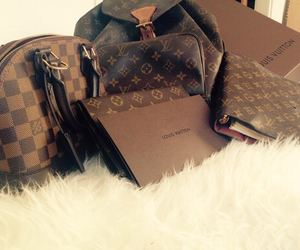 girl, Louis Vuitton, and love image