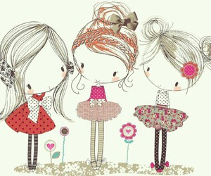 cute, drawing, and illustration image