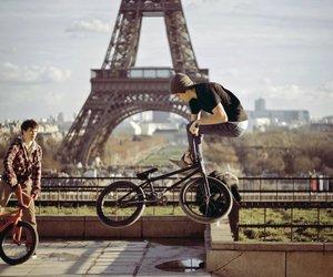 paris, boy, and bmx image