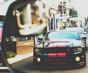 car, mustang, and love image