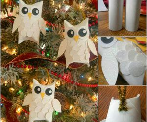 diy, christmas, and owl image