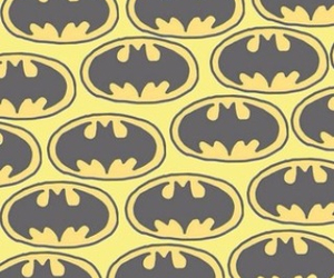 batman, wallpaper, and yellow image