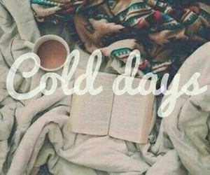 awesome, winter day, and book image
