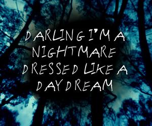 dark, grunge, and Lyrics image