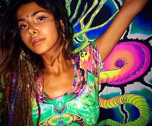 acid, dreads, and trippy image