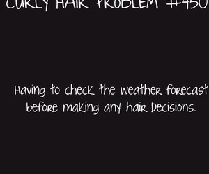curls, curly hair, and problem image