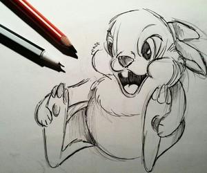 drawing, animal, and beautiful image