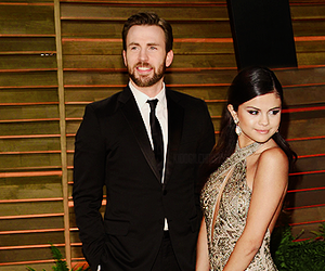 chris evans and selena gomez image