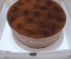 cake, chocolate, and starbucks image